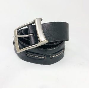 Belt | Black Leather